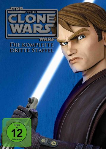 DVD Star Wars The Clone Wars komplette Staffel Season 3 dritte TV-Serie NEU & OVP