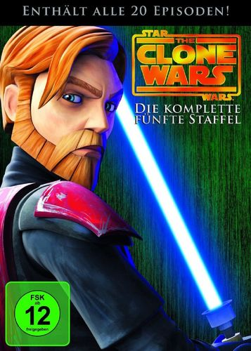 DVD Star Wars The Clone Wars komplette Staffel Season 5 fünfte TV-Serie NEU & OVP