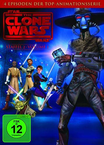 DVD Star Wars The Clone Wars Staffel Season 2.1  TV-Serie Folge 01-04 NEU & OVP