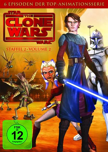 DVD Star Wars The Clone Wars Staffel Season 2.2  TV-Serie Folge 05-10 NEU & OVP