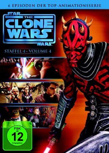 DVD Star Wars The Clone Wars Staffel Season 4.4  TV-Serie Folge 17-22 NEU & OVP