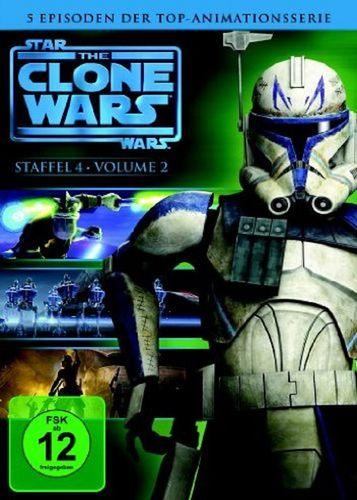 DVD Star Wars The Clone Wars Staffel Season 4.2  TV-Serie Folge 07-11 NEU & OVP