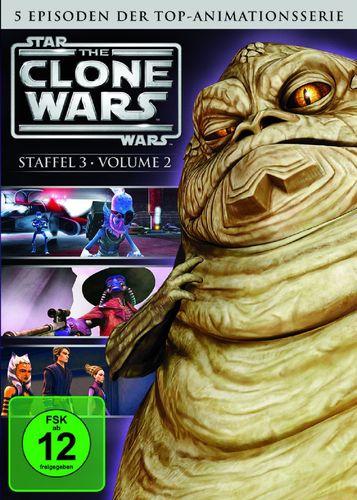DVD Star Wars The Clone Wars Staffel Season 3.2  TV-Serie Folge 07-11 NEU & OVP