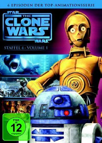 DVD Star Wars The Clone Wars Staffel Season 4.1  TV-Serie Folge 01-06 NEU & OVP