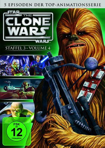 DVD Star Wars The Clone Wars Staffel Season 3.4  TV-Serie Folge 18-22 NEU & OVP