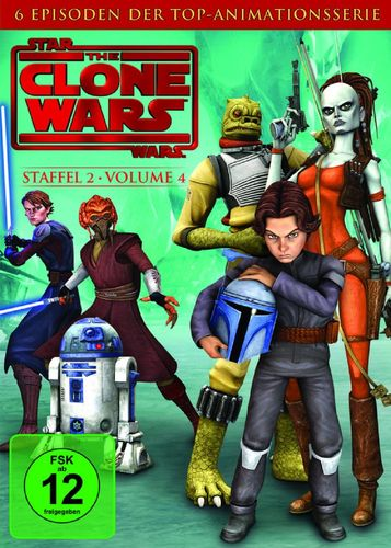 DVD Star Wars The Clone Wars Staffel Season 2.4  TV-Serie Folge 17-22 NEU & OVP