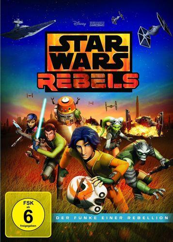 DVD Star Wars Rebels Staffel Season 0 Pilotfilm - Der Funke einer Rebellion  TV-Serie Folge 0 NEU