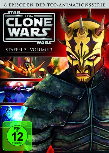 DVD Star Wars The Clone Wars Staffel Season 3.3  TV-Serie Folge 12-17 NEU & OVP