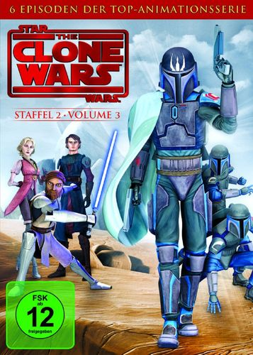 DVD Star Wars The Clone Wars Staffel Season 2.3  TV-Serie Folge 11-16 NEU & OVP