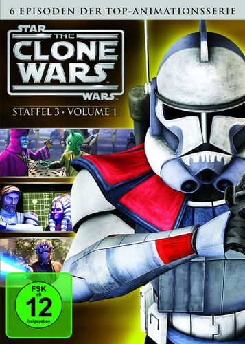 DVD Star Wars The Clone Wars Staffel Season 3.1  TV-Serie Folge 01-06 NEU & OVP