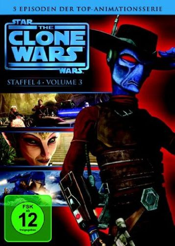 DVD Star Wars The Clone Wars Staffel Season 4.3  TV-Serie Folge 12-16 NEU & OVP
