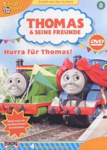 DVD Thomas und seine Freunde 08  8 Hurra für Thomas!  TV-Serie 4 Folgen  OVP & NEU