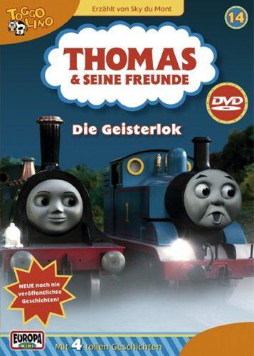 DVD Thomas und seine Freunde 14 Die Geisterlok TV-Serie 4 Folgen OVP & NEU