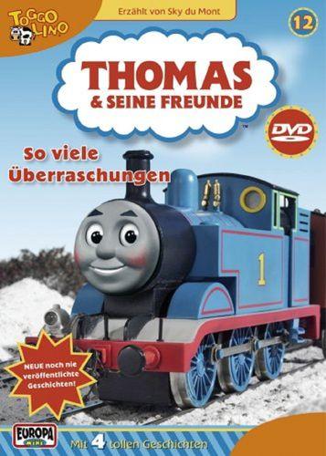 DVD Thomas und seine Freunde 12 Viele Überraschungen  TV-Serie 4 Folgen OVP & NEU
