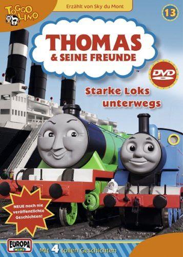 DVD Thomas und seine Freunde 13 Starke Loks unterwegs TV-Serie 4 Folgen OVP & NEU