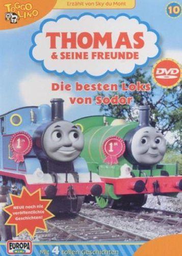 DVD Thomas und seine Freunde 10 Die besten Loks von Sodor TV-Serie 4 Folgen OVP NEU