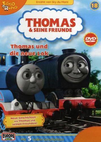 DVD Thomas und seine Freunde 18 und die neue Lok  TV-Serie 5 Folgen OVP & NEU