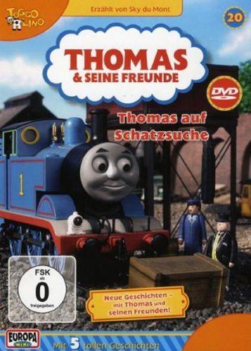 DVD Thomas und seine Freunde 20 Thomas auf Schatzsuche TV-Serie 5 Folgen OVP NEU