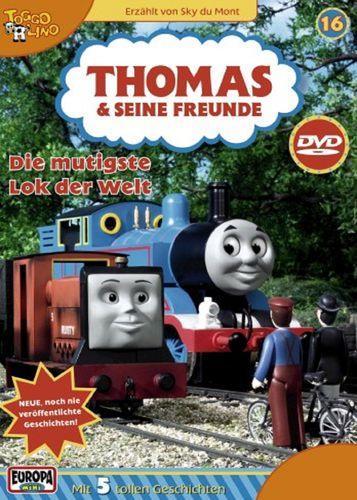DVD Thomas und seine Freunde 16 Die mutigste Lok der Welt TV-Serie 5 Folgen OVP NEU