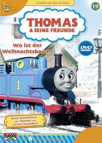 DVD Thomas und seine Freunde 19 Wo ist der Weihnachtsbaum TV-Serie 6 Folgen OVP NEU