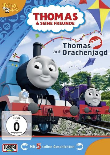 DVD Thomas und seine Freunde 26 Thomas auf Drachenjagd TV-Serie 5 Folgen OVP NEU
