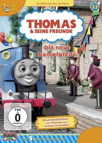 DVD Thomas und seine Freunde 22 Die neue Dampf-Pfeife TV-Serie 5 Folgen OVP NEU