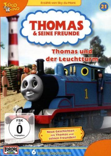 DVD Thomas und seine Freunde 21 und der Leuchtturm TV-Serie 6 Folgen OVP & NEU