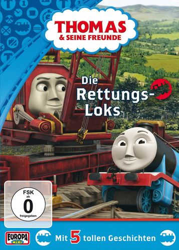 DVD Thomas und seine Freunde 33 Die Rettungs-Loks TV-Serie 5 Folgen OVP & NEU