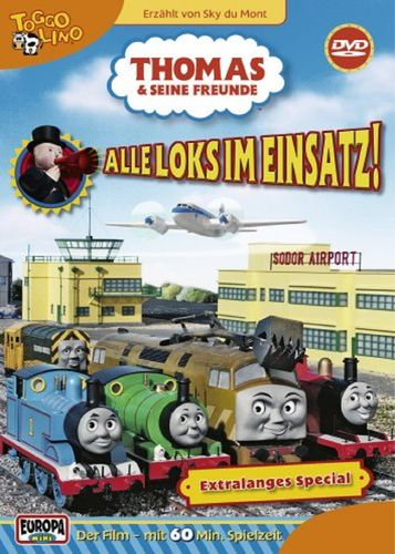 DVD Thomas und seine Freunde Special Alle Loks im Einsatz TV-Serie 2006 OVP & NEU
