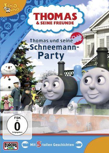DVD Thomas und seine Freunde 31 und seine Schneemann-Party TV-Serie 5 Folgen OVP NEU