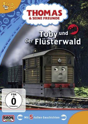 DVD Thomas und seine Freunde 28 Toby und der Flüsterwald TV-Serie 5 Folgen OVP NEU