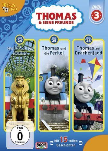DVD Thomas und seine Freunde  3er Box 3  TV-Serie  24+25+26 OVP & NEU