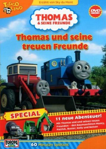 DVD Thomas und seine Freunde Special und seine treuen Freunde TV-Serie 2007 OVP & NEU