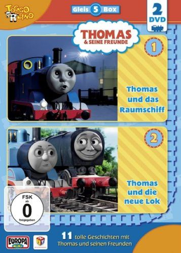 DVD Thomas und seine Freunde  2er Box Die Gleis-Box 5  TV-Serie 17+18 OVP & NEU