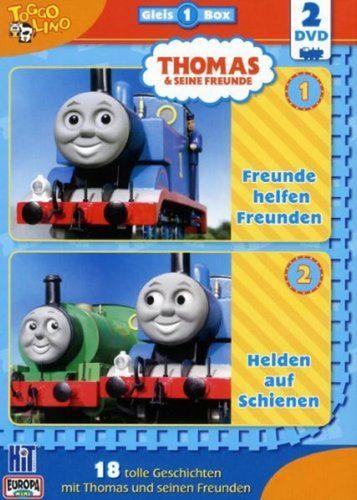 DVD Thomas und seine Freunde  2er Box Die Gleis-Box 1  TV-Serie 01+02 OVP & NEU
