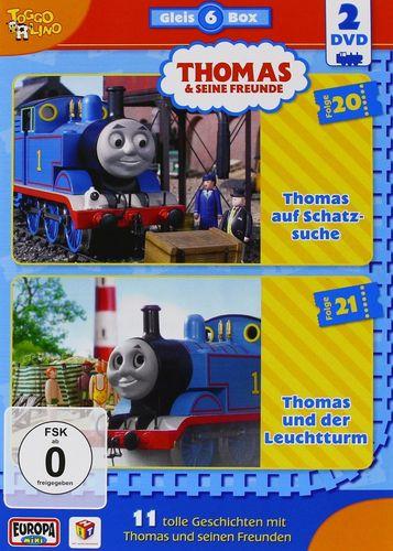 DVD Thomas und seine Freunde  2er Box Die Gleis-Box 6  TV-Serie 20+21 OVP & NEU