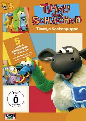 DVD Timmy das Schäfchen 05 5 Timmys Sockenpuppe  TV-Serie 5 Folgen  OVP & NEU