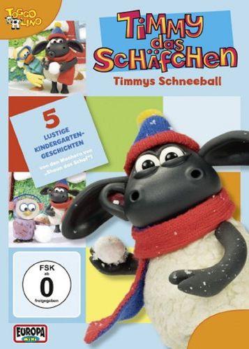 DVD Timmy das Schäfchen 08 8 Timmys Schneeball  TV-Serie 5 Folgen  OVP & NEU