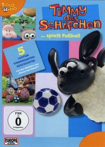 DVD Timmy das Schäfchen 02 2 Timmy spielt Fußball  TV-Serie 5 Folgen  OVP & NEU