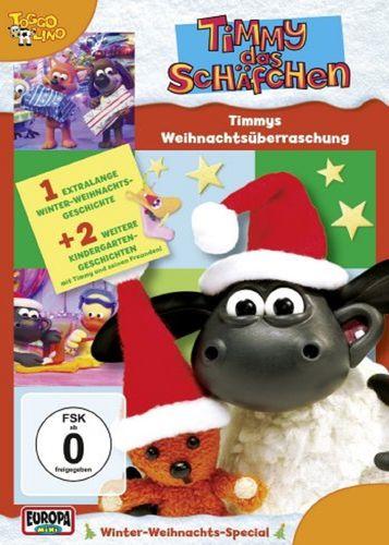 DVD Timmy das Schäfchen 11 Weihnachtsüberraschung XMas TV-Serie 3 Folgen OVP NEU