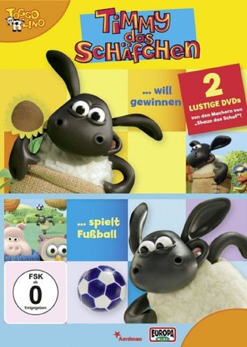 DVD Timmy das Schäfchen 2er Box 1 - will gewinnen + spielt Fußball TV-Serie Folge  1+ 2 OVP & NEU