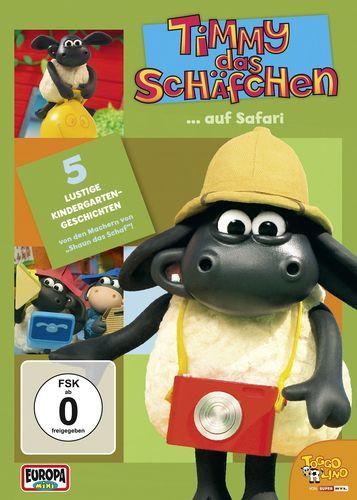 DVD Timmy das Schäfchen 15 Timmy auf Safari  TV-Serie 5 Folgen  OVP & NEU