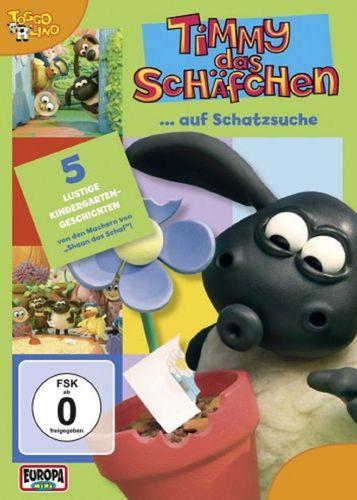 DVD Timmy das Schäfchen 10 Timmy auf Schatzsuche  TV-Serie 5 Folgen  OVP & NEU
