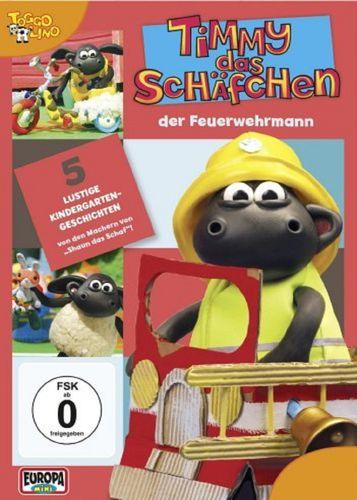 DVD Timmy das Schäfchen 14 Timmy der Feuerwehrmann  TV-Serie 5 Folgen  OVP & NEU