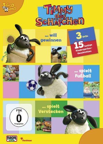 DVD Timmy das Schäfchen 3er Box 1  TV-Serie Folge  1+2+3  OVP & NEU