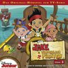 Walt Disney Hörspiel CD Jake und die Nimmerland-Piraten Folge  4 Buckys große Wettfahrt TV-Serie NEU