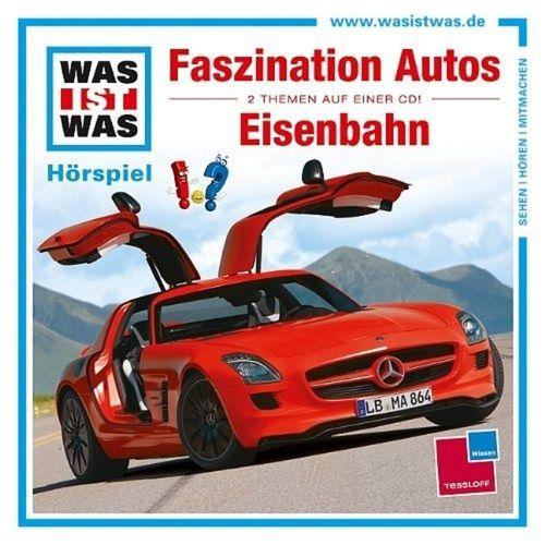 Was ist Was Hörspiel CD 002  2 Faszination Autos + Eisenbahn 2 Episoden NEU