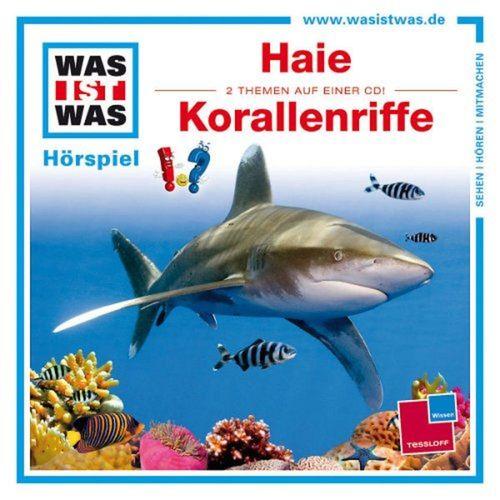 Was ist Was Hörspiel CD 003  3 Haie + Korallenriffe 2 Episoden NEU