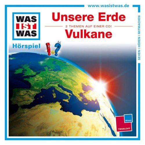 Was ist Was Hörspiel CD 001  1 Unsere Erde + Vulkane 2 Episoden NEU