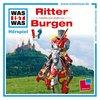 Was ist Was Hörspiel CD 004  4 Ritter + Burgen 2 Episoden NEU